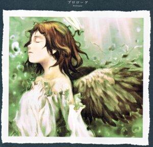 Rating: Safe Score: 6 Tags: abe_yoshitoshi haibane_renmei rakka wings User: Davison