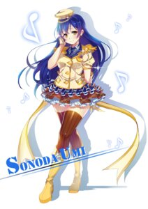 Rating: Safe Score: 25 Tags: heels hoony love_live! sonoda_umi thighhighs uniform User: mash