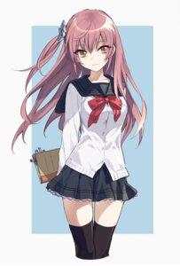 Rating: Safe Score: 68 Tags: maruchi seifuku thighhighs User: nphuongsun93
