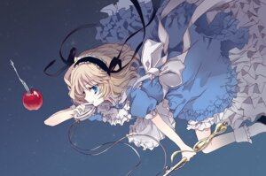 Rating: Safe Score: 43 Tags: alice_in_wonderland alice_margatroid cierra_(artist) dress touhou User: KazukiNanako