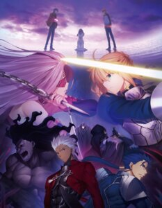 Rating: Safe Score: 36 Tags: archer armor berserker caster dress emiya_shirou fate/stay_night fate/stay_night_heaven's_feel lancer matou_sakura matou_shinji rider saber sword tagme tattoo weapon User: saemonnokami
