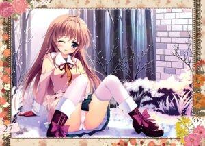 Rating: Questionable Score: 60 Tags: ame_zaiku cameltoe heels pantsu seifuku shiramori_yuse thighhighs User: Hatsukoi