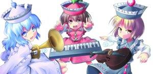 Rating: Safe Score: 6 Tags: hazumi_otoya lunasa_prismriver lyrica_prismriver merlin_prismriver touhou User: saemonnokami