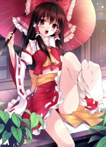 Rating: Safe Score: 54 Tags: feet hakurei_reimu mushroom touhou User: Radioactive