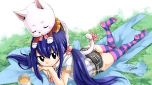 Rating: Safe Score: 45 Tags: ass charle fairy_tail mashima_hiro signed thighhighs wendy_marvell User: Mr_GT
