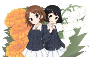 Rating: Safe Score: 6 Tags: abe_kanari girls_und_panzer sakaguchi_karina uniform utsugi_yuuki User: Radioactive