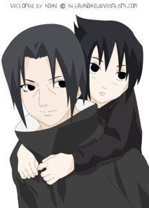 Rating: Safe Score: 2 Tags: male naruto signed uchiha_itachi uchiha_sasuke vector_trace User: Davison