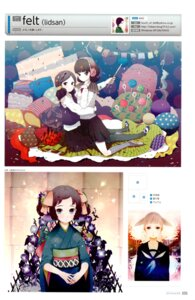 Rating: Safe Score: 4 Tags: kimono lidsan seifuku symmetrical_docking User: Share