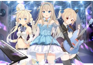 Rating: Safe Score: 26 Tags: cleavage dress girls_frontline guitar m1873_(girls_frontline) m1895_(girls_frontline) suomi_kp31_(girls_frontline) thighhighs xue_lu User: sym455