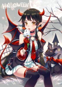Rating: Safe Score: 56 Tags: dress eyepatch halloween horns neko pointy_ears tail thighhighs wings zoff_(daria) User: Mr_GT