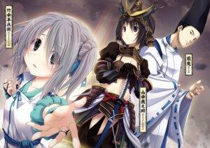 Rating: Safe Score: 13 Tags: armor cleavage japanese_clothes miyama-zero oda_nobuna_no_yabou sword takenaka_hanbei takenaka_hanbei_(nobuna) yamanaka_shikanosuke_(nobuna) User: kiyoe