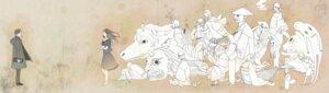 Rating: Safe Score: 8 Tags: akagane animal_ears bandages benio harujizou hiiragi hinoe_(natsume_yuujinchou) horns hotaru_(natsume_yuujinchou) ishio_kai isozuki_no_nezumi karime kimono kinume kitsune kogitsune mermaid misuzu_(natsume_yuujinchou) monochrome natsume_reiko natsume_takashi natsume_yuujinchou neko nyanko sasafune sasago seifuku tail tsubame_(natsume_yuujinchou) urihime yukata User: charunetra