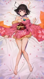 Rating: Safe Score: 104 Tags: dakimakura kimono koutetsujou_no_kabaneri mumei open_shirt yang-do User: mattiasc02