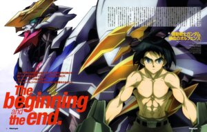 Rating: Questionable Score: 9 Tags: akai_masataka arisawa_hiroshi gundam gundam_iron-blooded_orphans male mecha mikazuki_augus User: drop