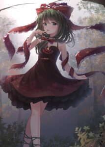 Rating: Safe Score: 42 Tags: cleavage dress duplicate kagiyama_hina touhou toyosaki_shu User: Nepcoheart