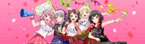 Rating: Safe Score: 19 Tags: bang_dream! guitar maruyama_aya minato_yukina mitake_ran tagme toyama_kasumi tsurumaki_kokoro User: saemonnokami