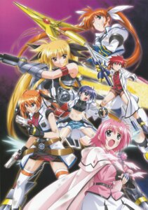 Rating: Safe Score: 10 Tags: caro_ru_lushe erio_mondial fate_testarossa mahou_shoujo_lyrical_nanoha mahou_shoujo_lyrical_nanoha_strikers subaru_nakajima takamachi_nanoha teana_lanster User: daemonaf2