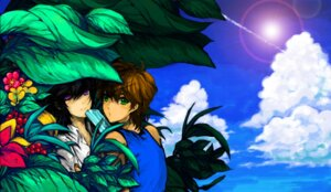 Rating: Safe Score: 4 Tags: code_geass kururugi_suzaku lelouch_lamperouge machi_(artist) male User: CC