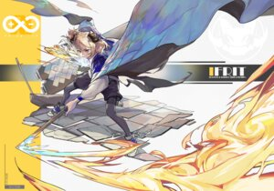 Rating: Safe Score: 10 Tags: arknights garter horns ifrit_(arknights) pantyhose weapon wulifeng User: Dreista