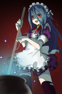 Rating: Safe Score: 43 Tags: juke maid sword_girls thighhighs User: fireattack