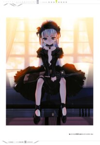 Rating: Questionable Score: 15 Tags: choco gothic_lolita gun lolita_fashion open_shirt User: fireattack