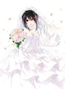 Rating: Questionable Score: 81 Tags: cleavage date_a_live dress heterochromia tokisaki_kurumi tsunako wedding_dress User: kiyoe