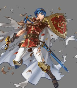 Rating: Questionable Score: 3 Tags: armor fire_emblem fire_emblem:_shin_ankoku_ryuu_to_hikari_no_ken kita_senri marth nintendo sword torn_clothes User: fly24