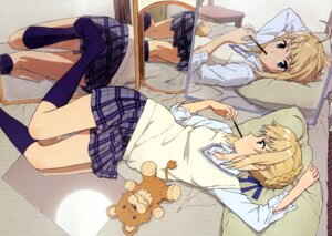 Rating: Safe Score: 84 Tags: fate/stay_night hiramatsu_tadashi saber seifuku User: Aurelia
