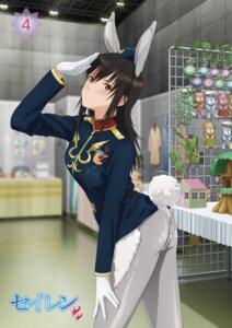Rating: Safe Score: 27 Tags: animal_ears ass bunny_ears disc_cover miyamae_tooru pantyhose seiren tagme tail uniform User: saemonnokami