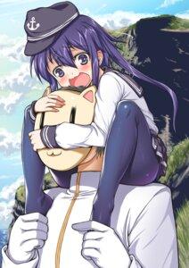 Rating: Safe Score: 22 Tags: admiral_(kancolle) akatsuki_(kancolle) flyking kantai_collection pantyhose seifuku User: Mr_GT
