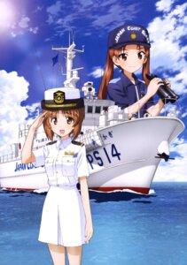 Rating: Safe Score: 17 Tags: girls_und_panzer kadotani_anzu nishizumi_miho uniform User: drop