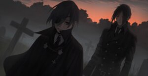 Rating: Safe Score: 9 Tags: ciel_phantomhive eyepatch kuroshitsuji male revolmxd sebastian_michaelis User: charunetra