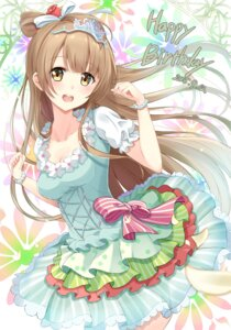 Rating: Safe Score: 86 Tags: cleavage dress karumayu love_live! minami_kotori User: Mr_GT