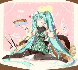 Rating: Safe Score: 27 Tags: dress hatsune_miku nasudora pantyhose vocaloid User: fairyren