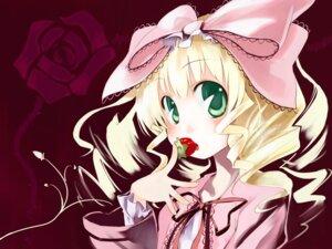 Rating: Safe Score: 10 Tags: hina_ichigo lolita_fashion rozen_maiden ushiki_yoshitaka wallpaper User: Radioactive