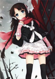 Rating: Safe Score: 97 Tags: nyanya thighhighs User: van