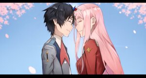 Rating: Safe Score: 11 Tags: 55level darling_in_the_franxx hiro_(darling_in_the_franxx) horns uniform zero_two_(darling_in_the_franxx) User: Dreista