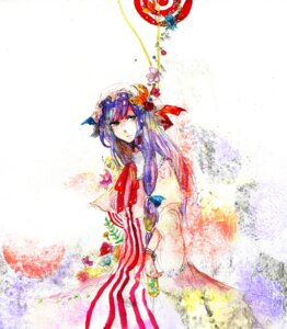 Rating: Safe Score: 5 Tags: patchouli_knowledge sakuma touhou User: Radioactive