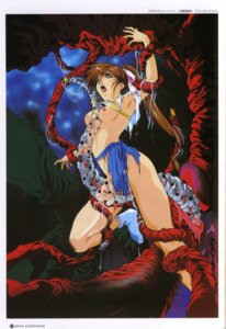 Rating: Explicit Score: 20 Tags: amatsu_ai bra breasts nipples nopan rin_sin tentacles torn_clothes twin_angels User: Blindseer