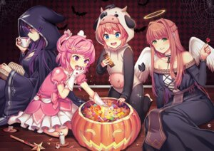 Rating: Questionable Score: 15 Tags: angel cleavage doki_doki_literature_club! dress halloween monika_(doki_doki_literature_club!) natsuki_(doki_doki_literature_club!) satchely sayori_(doki_doki_literature_club!) wings yuri_(doki_doki_literature_club!) User: animeprincess