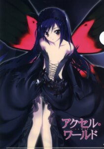 Rating: Questionable Score: 81 Tags: accel_world dress gothic_lolita hima kuroyukihime lolita_fashion pantsu see_through skirt_lift wings User: risaxrika