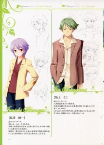 Rating: Safe Score: 3 Tags: garden gayarou male profile_page sakagami_jin shimazu_junichi sketch User: admin2