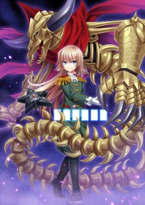 Rating: Safe Score: 8 Tags: future_card_buddyfight monster shidou_magoroku soraeda uniform User: Mr_GT