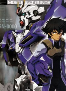 Rating: Safe Score: 7 Tags: gundam gundam_00 male mecha nishii_masanori oonuki_kenichi screening setsuna_f_seiei User: harimahario
