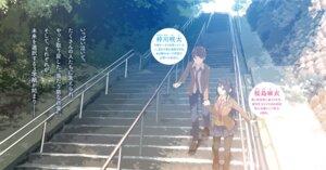 Rating: Safe Score: 15 Tags: azusagawa_sakuta landscape mizoguchi_keiji pantyhose sakurajima_mai seifuku seishun_buta_yarou_series User: kiyoe