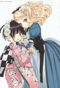 Rating: Safe Score: 28 Tags: alice_blanche ikoku_meiro_no_croisee kimono lolita_fashion takeda_hinata yune User: MDGeist