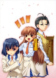 Rating: Safe Score: 3 Tags: aoi_shiro hal honjou_asuna osanai_shouko screening yamamoto_tomoko User: SubaruSumeragi