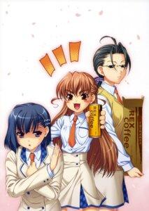 Rating: Safe Score: 3 Tags: aoi_shiro hal honjou_asuna osanai_shouko screening yamamoto_tomoko User: SubaruSumeragi