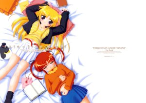 Rating: Safe Score: 3 Tags: fate_testarossa mahou_shoujo_lyrical_nanoha takamachi_nanoha User: Radioactive