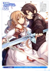 Rating: Safe Score: 23 Tags: armor ass asuna_(sword_art_online) fal_maro kirito sword sword_art_online User: drop